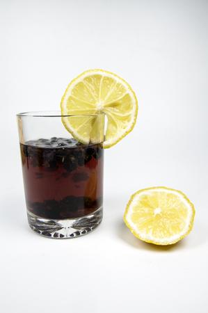 Sweet and sour lemon black tea