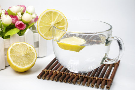 Nutritious lemon tea