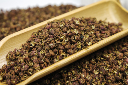 Sichuan pepper, seasoning for cooking 版權商用圖片