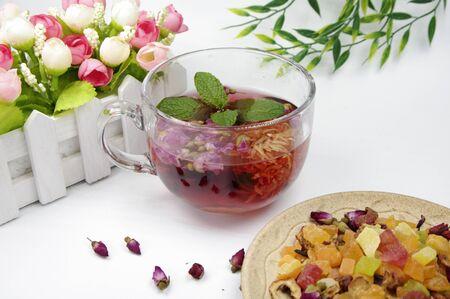 Flower Fruit Tea and Hypericum