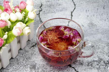Flower Fruit Tea and Hypericum 版權商用圖片