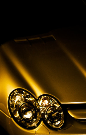 luxuries: luxury car detail Stock Photo