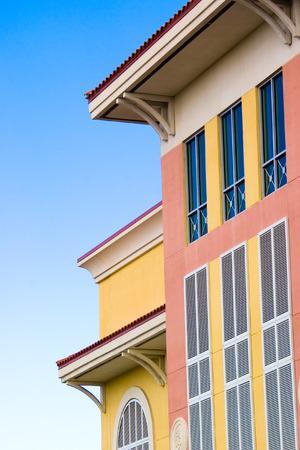 Colorful architecture design