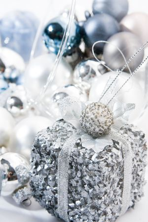 Diverse Christmas ornaments Stock Photo - 2361396
