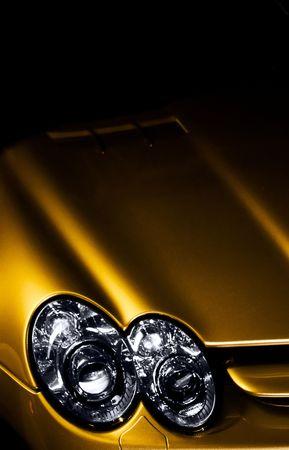 Luxury car detail