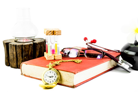 A still-life consisting of a medical profession theme. photo