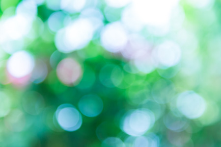 Green and blue summer bokeh for background photo