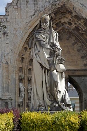 abbaye: Abbaye saint-Bertin in Saint-Omer france Stock Photo