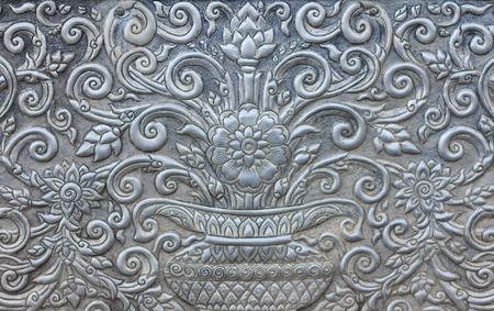 steel: Steel carving Stock Photo