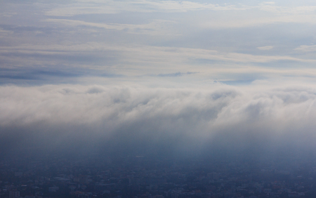 cloud scape: Cloud scape morning in Northern Thailand Stock Photo
