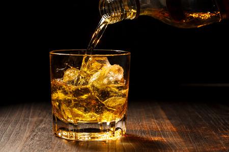 ウイスキー 写真素材