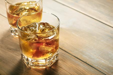 bar drinks: whisky Stock Photo