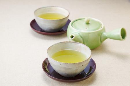 Japanse thee Stockfoto