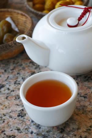 ウーロン茶 写真素材