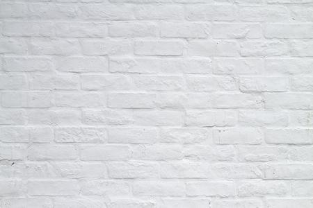れんが造りの白い背景 写真素材