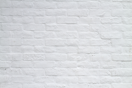 White brick background Archivio Fotografico
