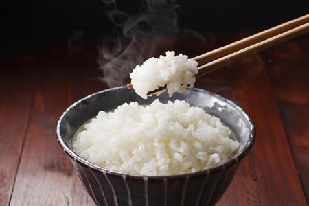 arroz blanco: Arroz japonés