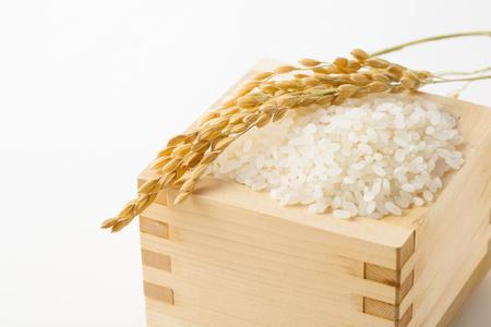 crop margin: Japanese rice