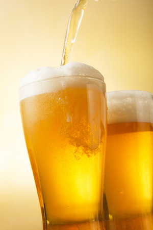 sizzle: Beer glass