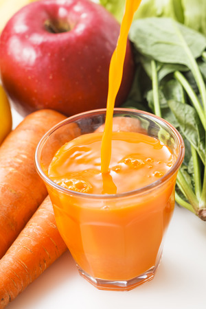 sizzle: Vegetables snd fruit  Mixed juice