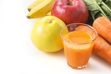 sizzle: Vegetables snd fruit  Mixed juice