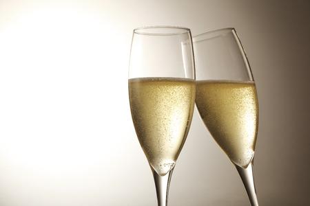 シャンパン スパーク リング ワイン 写真素材
