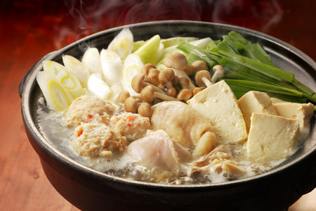 Chicken hot pot Stock Photo