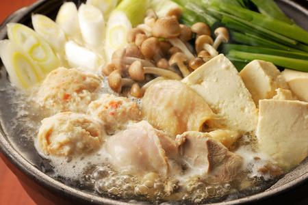 hot asian: Куриный горячий горшок Фото со стока