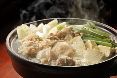 Chicken hot pot Standard-Bild