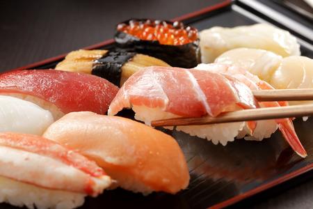 Sushi nourriture japonaise Banque d'images