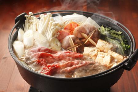 日本のすき焼き