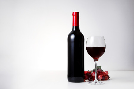 Red wine image Standard-Bild