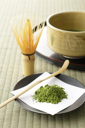 Japanese maccha green tea