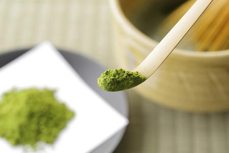 powder room: Japanese maccha green tea