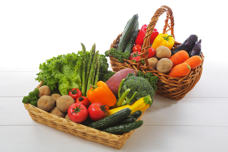 crop margin: Vegetable set Stock Photo