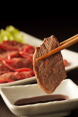Yakiniku Japanese barbecue Stock Photo