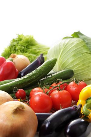 Vegetable set Stock Photo