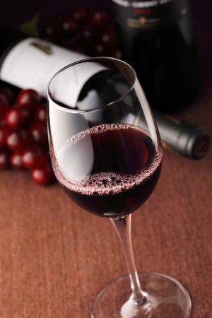 Red wine image Standard-Bild