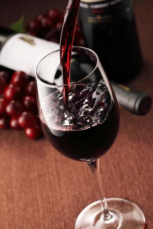 Red wine image Archivio Fotografico