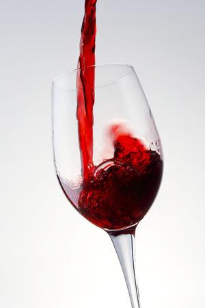 Red wine image Stock Photo