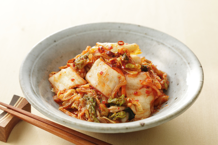 KIMUCHI Korean pickles 写真素材