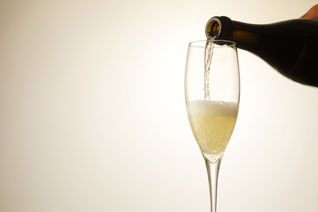 Champagne sparkling wine Banque d'images - 95568142
