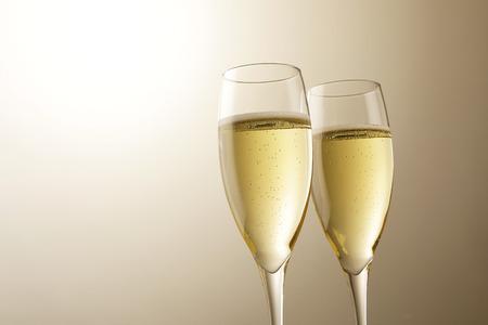Champagne sparkling wine