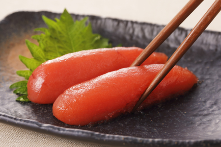 Salted Cod Roe.Japanese food mentaiko Stok Fotoğraf