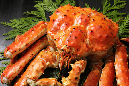Crabe royal rouge