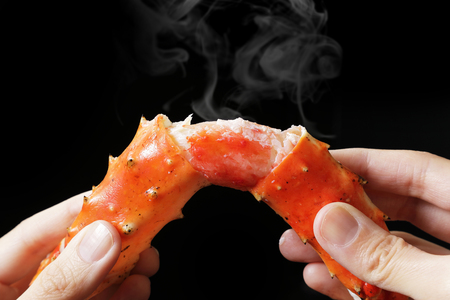 Red king crab
