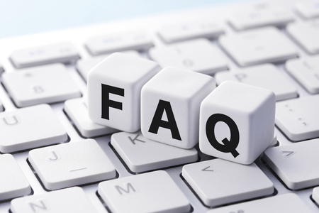 FAQ Frequently Asked Questions 写真素材 - 98202477