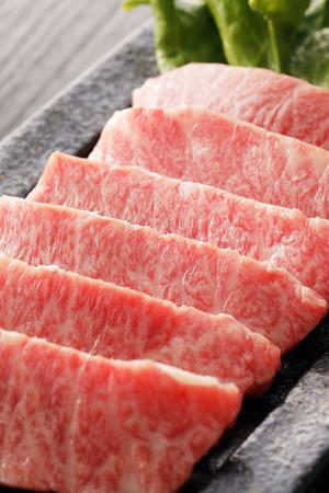 Wagyu Short-Rib beef. Is the Japanese. Foto de archivo - 102015326