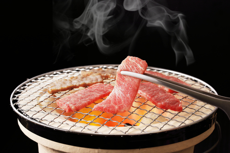 Yakiniku, meaning grilled meat, is a Japanese food.
