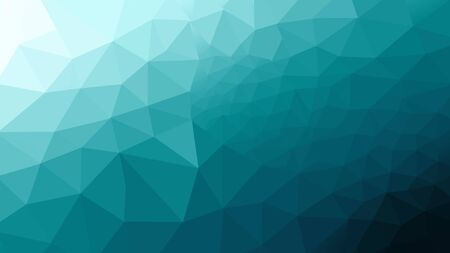abstract blue polygon photo design frome illustration for background.
